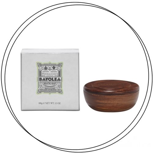 Penhaligon's - BAYOLEA Shaving Soap in Wooden Bowl 100g