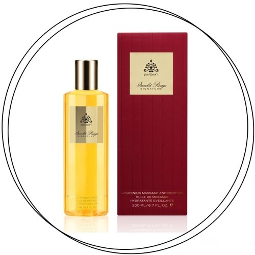 Panpuri - SCARLET ROUGE Massage & Body Oil 200ml