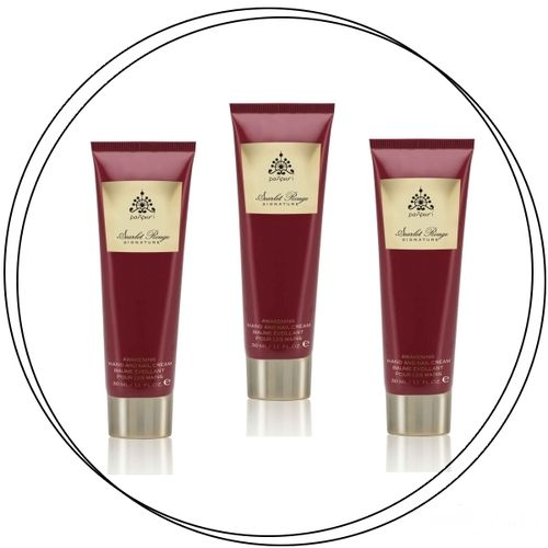 Panpuri - SCARLET ROUGE Hand & Nail Cream Set 3x30ml