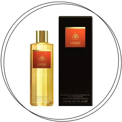 Panpuri - CLEMENTINE & PATCHOULI Massage Body Oil 200ml