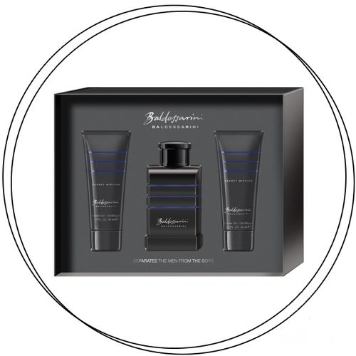 BALDESSARINI - Secret Mission Set EdT + Shower Gel 3x50ml