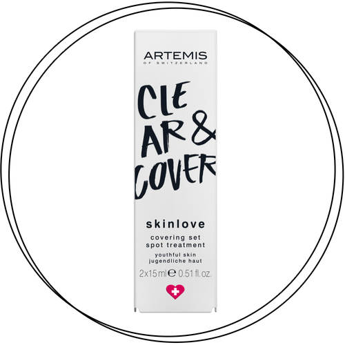 ARTEMIS - skinlove COVERING SET CLEARING SPOT GEL & COVERING SPOT CREAM 2x15ml