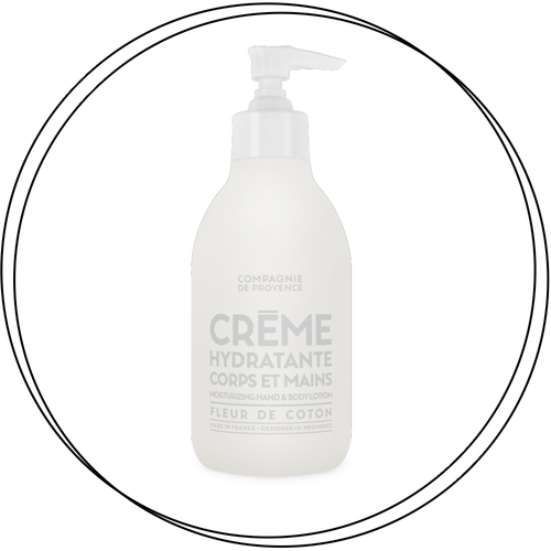 Compagnie de Provence - Cotton Flower Hand & Body Lotion [300ml]